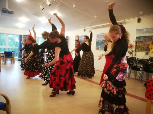 Flamenco for let øvede og øvede