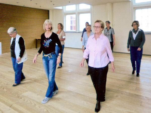 Country Line Dance - Let øvede/Øvede